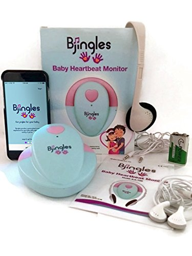Bjingles-Heartbeat-Baby-Monitor-Listen-to-your-Unborn-Babys-Heartbeat-and-Other-Movements