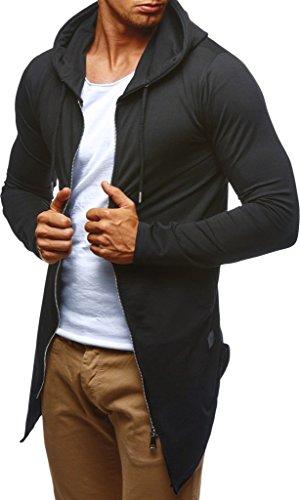 Des Pull Pullover Nelson Avec Sweatshirt Ln6366 Leif Veste Capuche Sweat Hommes À Schwarz Hoody Hoodie Pour pqEqCzwIx