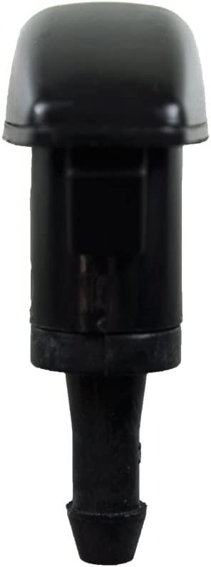 Black fits Front Left or Front Right PT Auto Warehouse WNZ-CH202-F Windshield Washer Nozzle