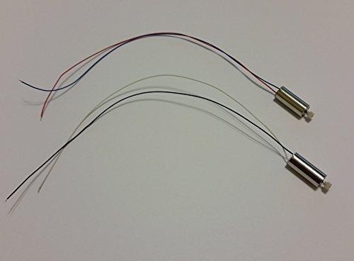 """Main Motors Set Replacement/Spare Part for Haktoys HAK907 17"""" Diagonal 2.4GHz 4CH RC Quadcopter"""