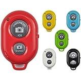 Telecomando Bluetooth Remote Control Camera Selfie Shutter Per Apple iPhone Samsung Phones