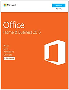 Microsoft Office Home and Business 2016 Product Key Card for 1 PC