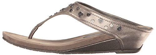 Great REACTION Kenneth Sandalen Mit Keilabsatz Leger Leap Offener Cole Gunmetal 4 Zeh Frauen qAATrtO5