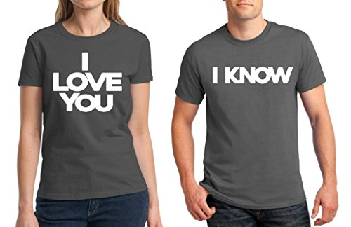 Awkwardstyles Matching Couple Shirt I Love You   I Know T-shirt Valentines  Day C 29324289c