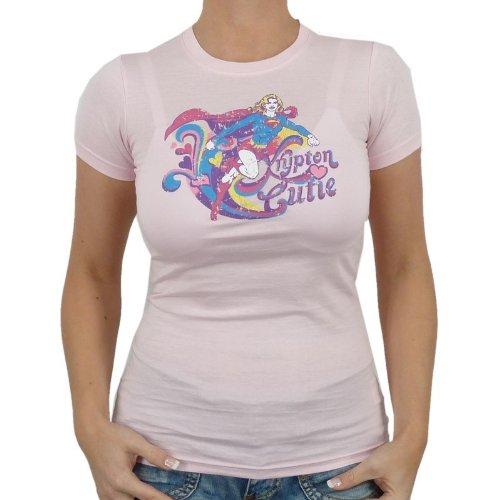 Super Girl–krytpon Girlie T-shirt rose