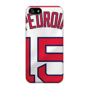 Premium Durable Boston Red Sox Fashion Tpu Iphone 5/5s Protective Case Cover