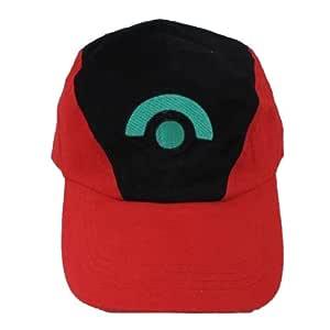 Xcoser Classic Ash Ketchum Béisbol Snapback Cap: Amazon.es ...