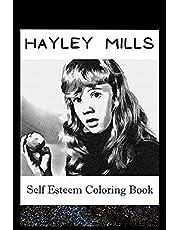 Self Esteem Coloring Book: Hayley Mills Inspired Illustrations