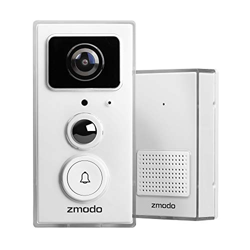 Zmodo Smart Video Doorbell/Door Chime with 1080p Full HD WiFi Night Vision Camera
