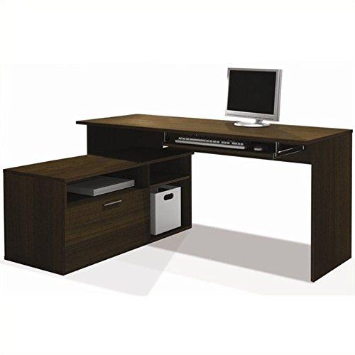 Scranton & Co L-Shape Workstation Desk in -