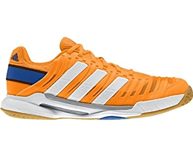 df4c0bf77 adidas Adipower Stabil 10.1 Indoor Court Shoes - 8 Orange  Amazon.co ...
