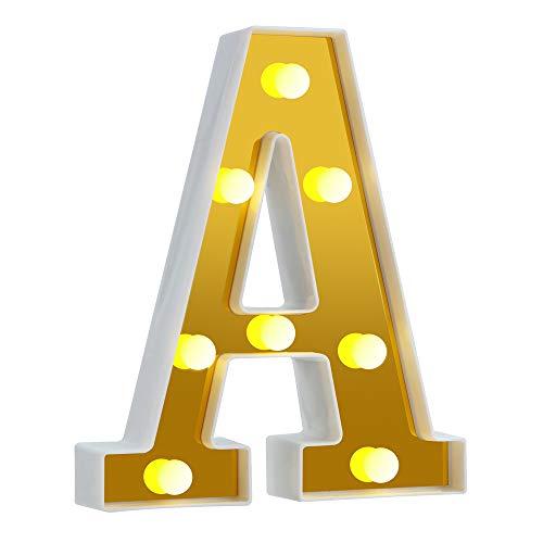 Big Gold-Letter