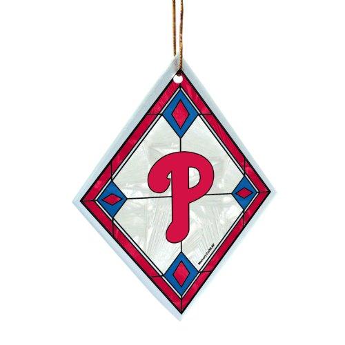 - The Memory Company MLB Philadelphia Phillies Art Glass Ornament