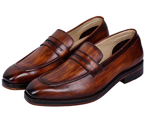Penny Slip-On Leather Loafer