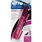 (3 Pack) Maybelline New York Define-a-lash Lengthening Mascara, Very Black 821, 0.22 Fluid Ounce