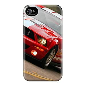 High Quality Shock Absorbing Case For Iphone 4/4s-ford Mustang (17)
