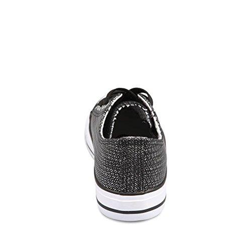 MERRY SCOTT ,  Sneaker donna nero nero