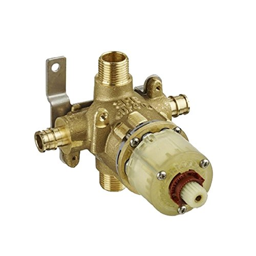 American Standard R118 Pressure Balance Rough Valve Body with Pex Inlets/Universal Outlets for Cold Expansion System, No No Finish