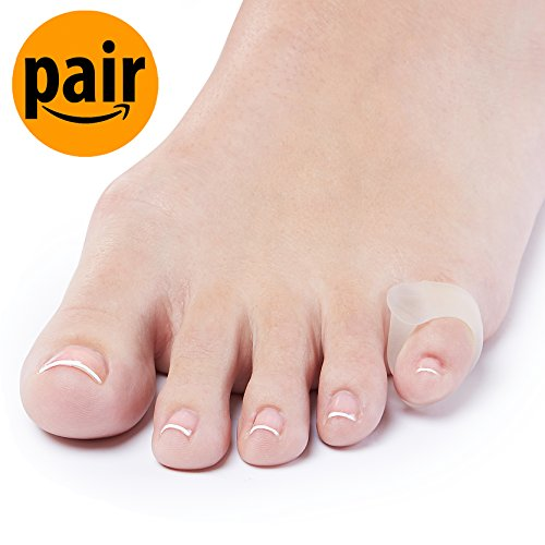 Toe Corn (Natracure Advanced Gel Toe Separator (w/Toe Loop) - Toe Spacer - Small (1104-M CAT 2PK))