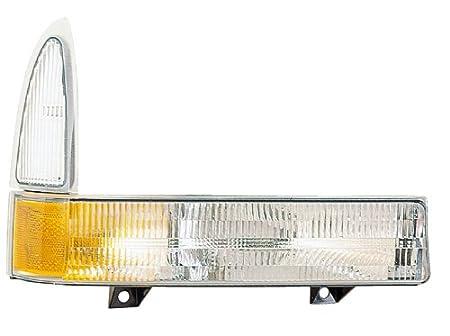 Eagle Eyes FR349-U000L Ford Driver Side Park/Side Marker Lamp Lens and Housing FO2520169V rm-EGL-FR349-U000L