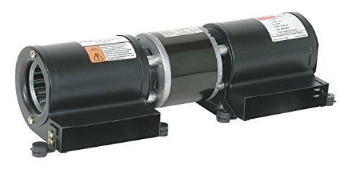 Dayton Model 1TDU7 Low Profile Blower 115 Volt for Fireplace or Wood Stove (4C825) by Dayton by Dayton