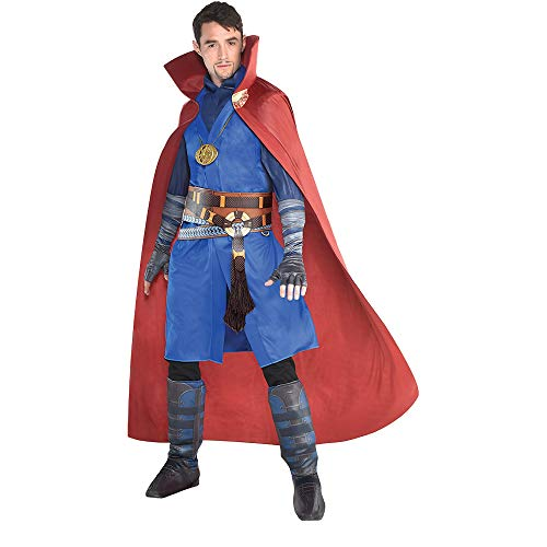 SUIT YOURSELF Avengers: Infinity War Dr. Strange Costume for Men, Standard Size, Includes a Tunic, a Cape, and More -