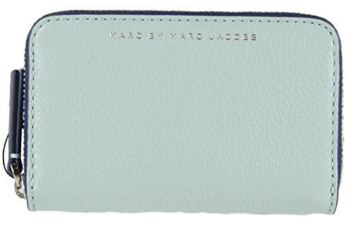 Marc Jacobs Sophisticato Zip Card Case in Fluoro Ice - Marc Jacobs Clutch Wallet