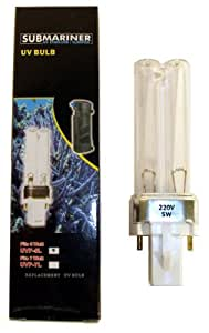 JBJ SUBMariner UV Sterilizer Replacement 5 Watt UV-C Lamp