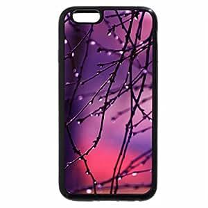 iPhone 6S / iPhone 6 Case (Black) Raindrop