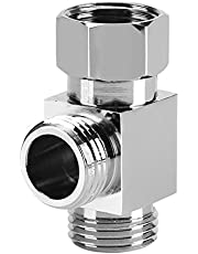 """G1/2 """"Messing 3 Manier T Vorm Adapter Toilet Bidet Sproeier Universele Douche Systeem Component Vervanging Deel Water Omleider Valve voor Douche Arm Gemonteerd"""