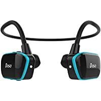 DISO Waterproof Mp3 Player for Swimming Headphones 8GB Memory New Third Version 2in1 for Sport/Gym/Workout