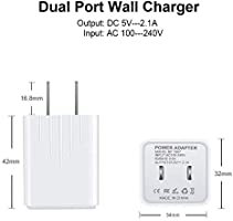Amazon.com: Micro USB Charger, Fast Charge Phone Charger for ...
