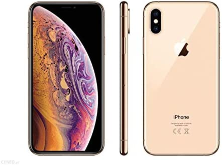Apple iPhone XS, 64GB, Gold - For Sprint (Renewed)