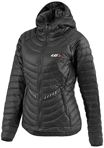 Louis Garneau Women's Approach Jacket, Black/Gray, Large Louis Jacket