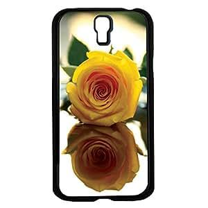 Pretty Yellow Rose Hard Snap on Phone Case (Galaxy s4 IV)