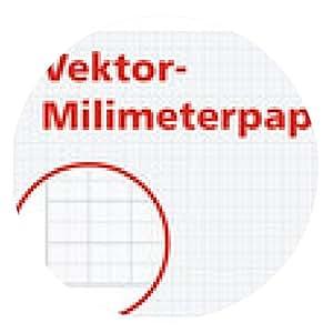 alfombrilla de ratón Milimeterpapier - ronda - 20cm