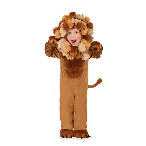 Just Pretend Lion Size Large (3T-4T) Toddler Animal Costume (Animal Planet Raptor Dog Costume)