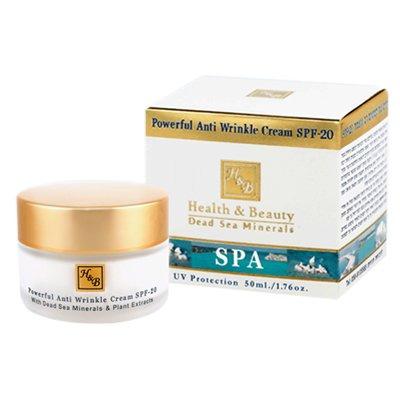 Santé et beauté Dead Sea Minerals puissant Anti rides Crème SPF-20