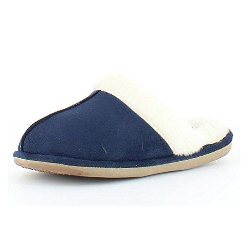 Feet casa mujer azul Heavenly de de para Sintético Zapatillas Material estar por marino dpcWH4qc