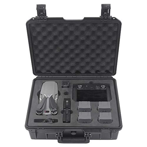 Lilai Compatible for DJI Mavic 2 Pro/Zoom & Smart Controller Military Spec Hardshell Carrying Case Waterproof Storage Case Large Capacity Shockproof and ()