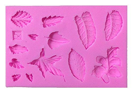 Blue Vessel 3D-Blätter Vein Silikon-Fondant-Form-Kuchen Dekor Backen Icing Sugar Mold