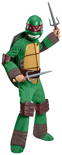 Teenage Mutant Ninja Turtles Deluxe Raphael Costume, Toddler