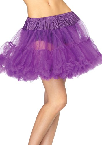 Leg Avenue Women's Petticoat Dress, Purple, One - Avenues Stores The