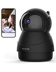 $25 » [2020 Upgraded] Victure 1080P Pet Camera, WiFi IP Camera, Indoor Security Camera for Pet/Baby/Elder, 2.4G Home Camera with Motion Detection/Night Vision/ 2 Way Audio/Cloud Service, App-Victure Home