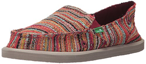 Sanuk Red Women's Boho Loafer Puma Slip Boho Donna on 00Orwq