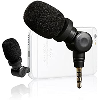 Saramonic SmartMic Mini Flexible Condenser Microphone with High Sensitivity for Apple IOS Devices and Android Smartphones