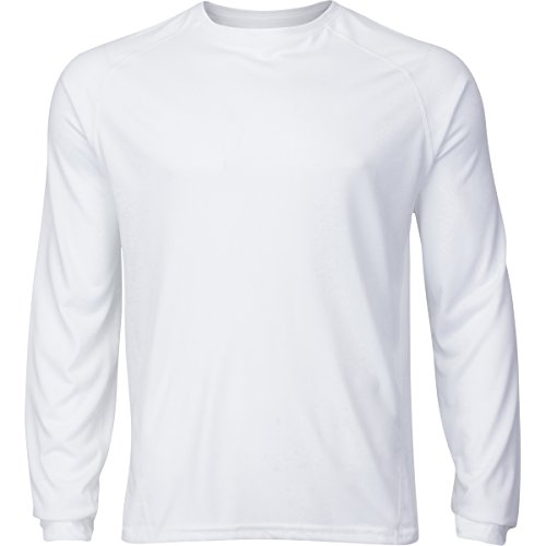 Active Mens Performance Wicking Long Sleeve Workout T Shirts 2 Pack
