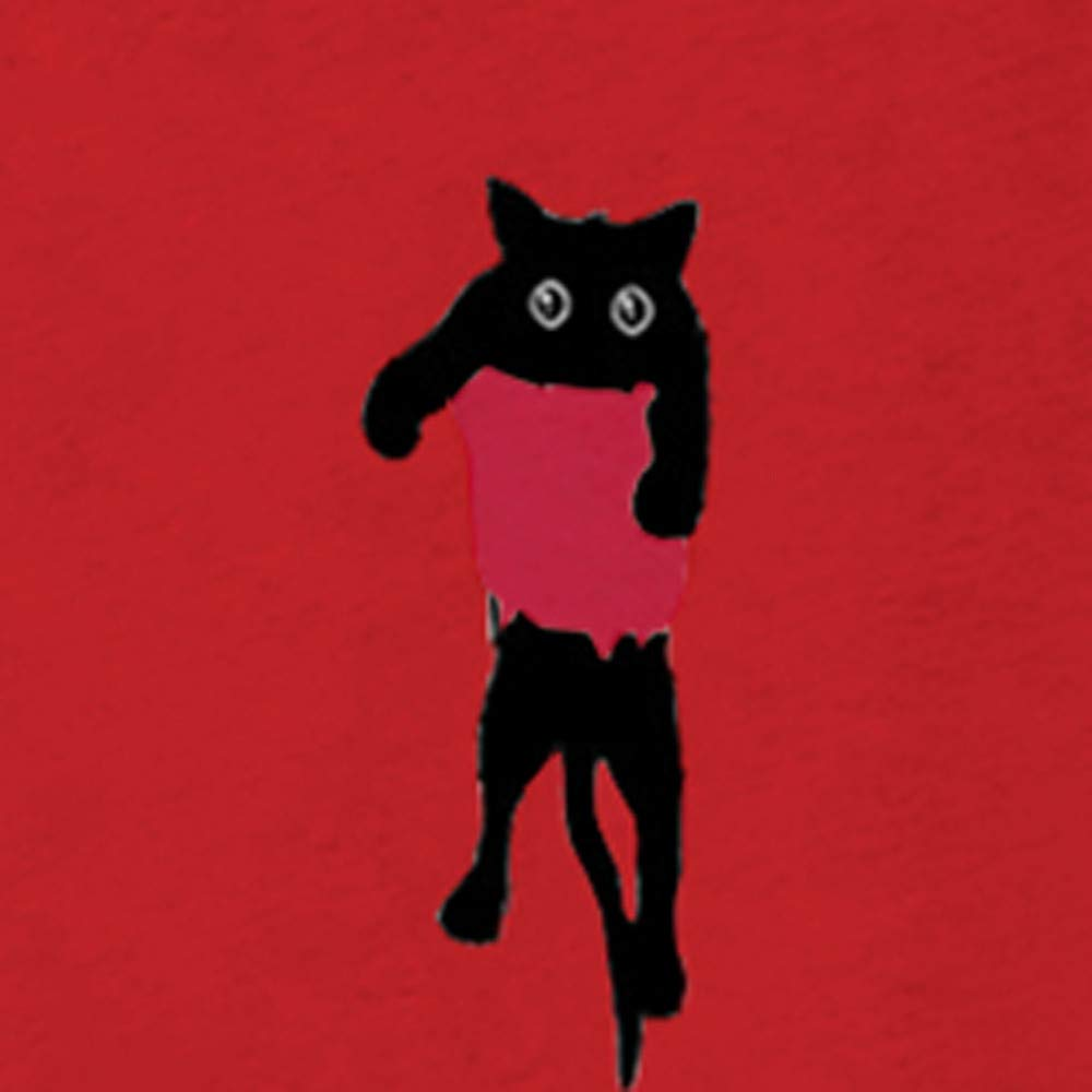 Frauen Langarm Pulli Tunika Hemd Oberteile Rundhals Lose Freizeit Kleider Strickpullover Katze Drucken Tops Bluse T-Shirt OSYARD Damen Sweatshirt Pullover Oberseiten