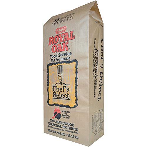 Royal Oak Chef's Select Premium Hardwood Lump Charcoal Briquettes for