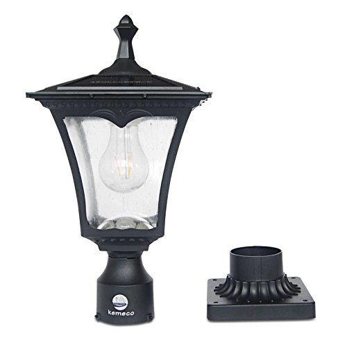 Outdoor Pole Lamps Solar in US - 8